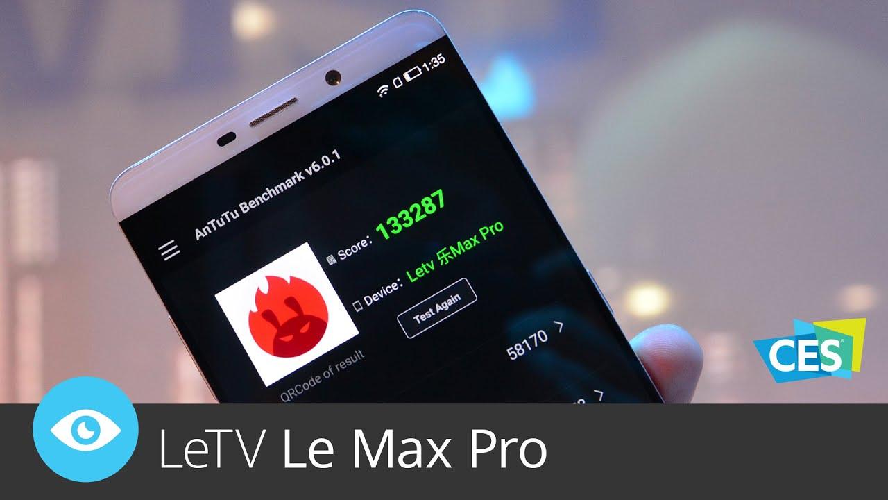 LeTV Le Max Pro (CES 2016)