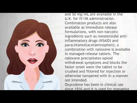 Oxycodone - Wiki Videos