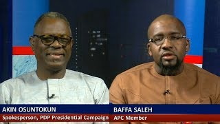 PDP's Osuntokun, APC's Baffa Differ On Obasanjo's Rejection Of Buhari's Govt Pt.1 |Politics Today|