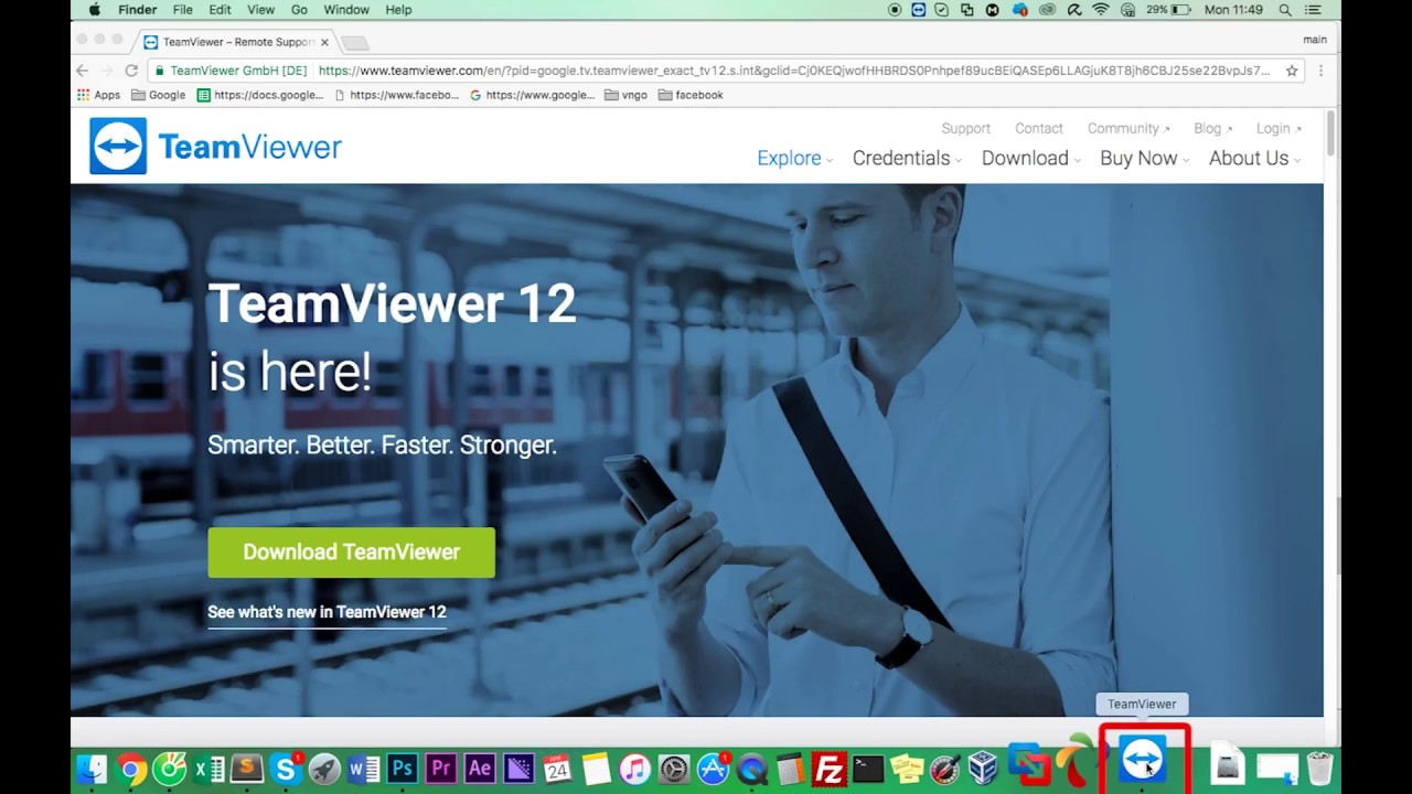 How to Install Team Viewer 12 on macbook - Mac OS X