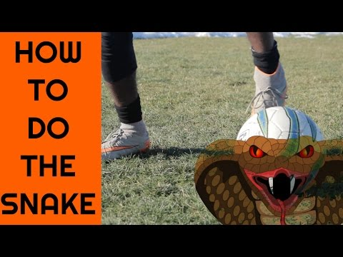 How to do the ELASTICO like Ronaldinho - SNAKE | FLIP FLAP tutorial - Soccer Tricks & Skills
