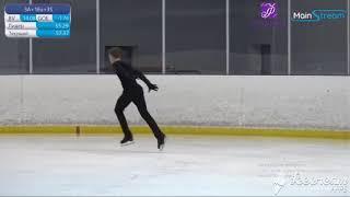 Илья Яблоков Произвольная программа Кубок Москвы по фигурному катанию на коньках 2020г