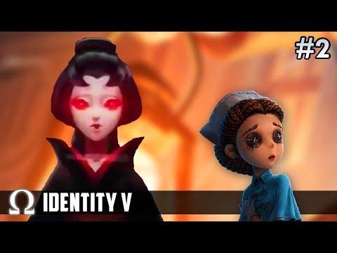 THE GEISHA SHOWS NO MERCY! | Identity V Multiplayer #2 New Hunter Geisha / Michiko