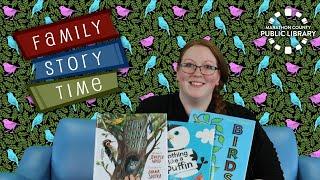 video thumbnail: Family Story Time - Birds!