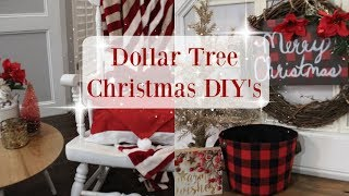 DOLLAR TREE CHRISTMAS DIY'S 2018