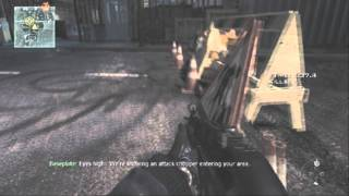 "MW3 Trophy ""No Assistance Required"""