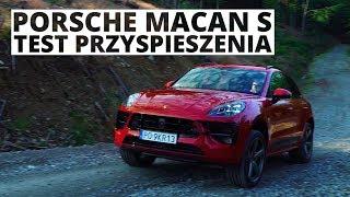 Porsche Macan S 3.0 354 KM (AT) - acceleration 0-100 km/h