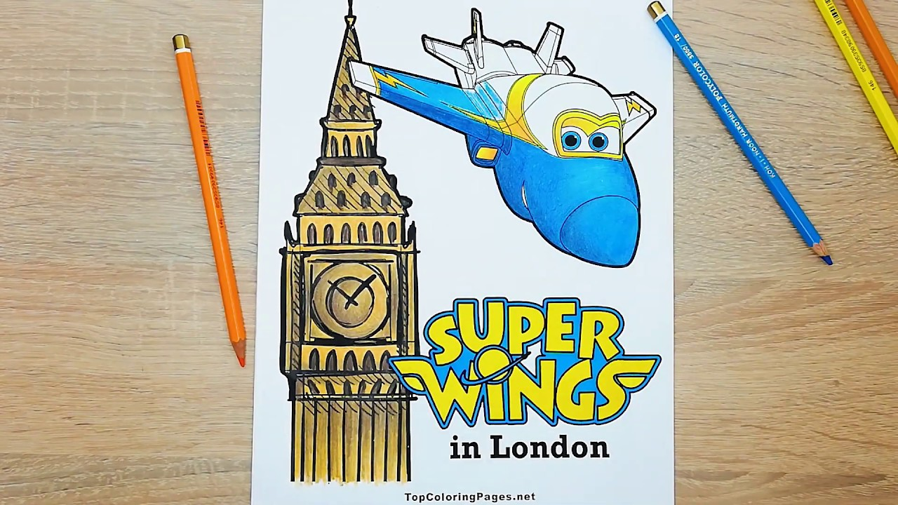 Free Super Wings coloring pages for children - Topcoloringpages.net