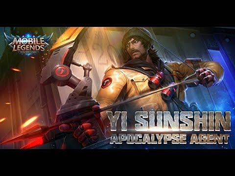 Mobile Legends: Bang bang! Yi Sun-shin New Skin |Apocalypse Agent|