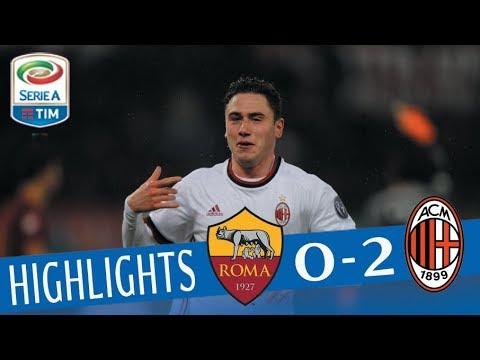 Roma - Milan 0-2 - Highlights - Giornata 26 - Serie A TIM 2017/18