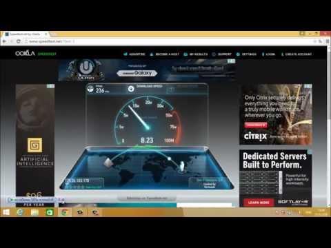 ทดสอบความเร็วเน็ตทีโอที TOT FTTx SpeedTest 35M/5M
