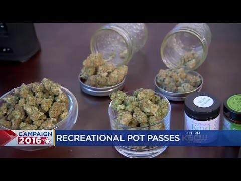 Recreational Marijuana Prop 64 Passes In California