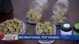 Recreational Marijuana Prop 64 Passes In California