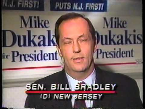 1988 Presidential Election Returns, Nov 8, 1988