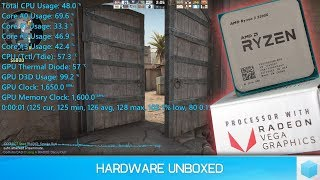 Ryzen 3 2200G Gaming Footage, 16 Games Tested with Mixed Results