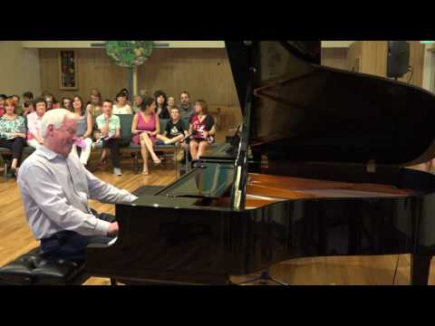 Spontaneous Improvisation on a Random Theme from the Audience by John Salmon