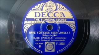 "Elsie Carlisle - ""Have You Ever Been Lonely?"" (1933)"