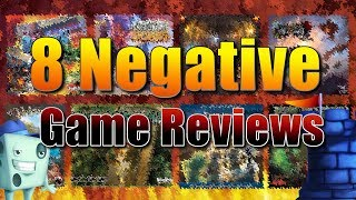 8 Negative Game Reviews   with Tom Vasel