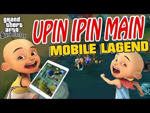 Upin Ipin Main mobile legend GTA Lucu