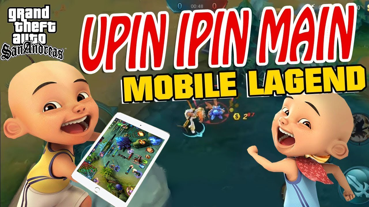 Upin Ipin Main mobile legend GTA Lucu - YouTube