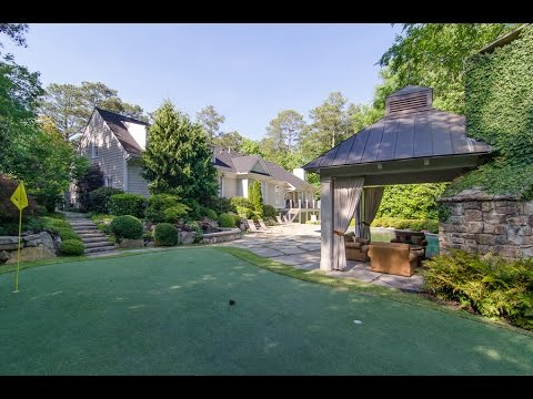 2 MILLION DOLLAR BUCKHEAD ATLANTA LUXURY HOMES - 4716 Northside Drive