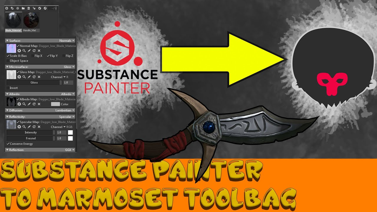 Tutorial] Substance Painter To Marmoset Toolbag workflow : allegorithmic
