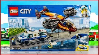 LEGO CITY 60209 Diamond Heist Construction Toy - UNBOXING
