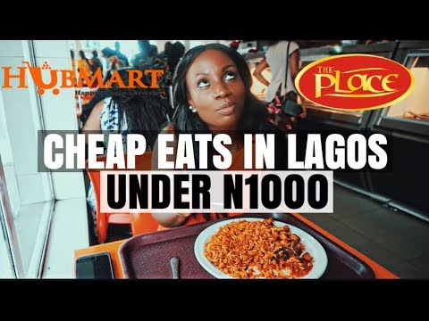 RESTAURANTS IN LAGOS - CHEAP EATS 2018 | LIFE IN LAGOS #15 | Sassy Funke [GIVEAWAY CLOSED]