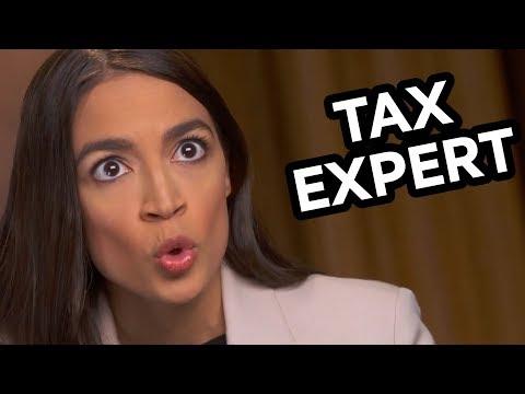 Alexandria Ocasio-Cortez: Tax