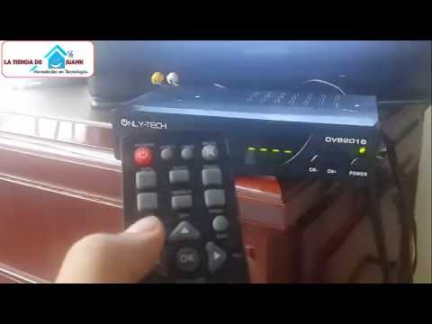 como configurar un decodificador tv tdt 2 television digital terrestre