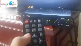 como configurar un decodificador tv tdt 2 television digital terrestre