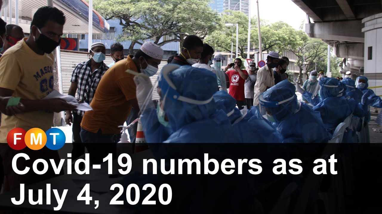 Covid-19 numbers as at July 4, 2020