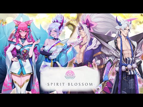 Spirit Bonds: S+ Conversations (Ahri, Kindred, Riven, Yasuo, Yone) - LoL: Spirit Blossom 2020