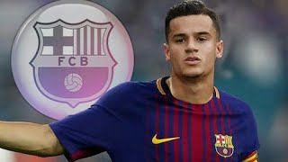 PHILIPPE COUTINHO OFFICIALLY JOIN BARCALONA!!!