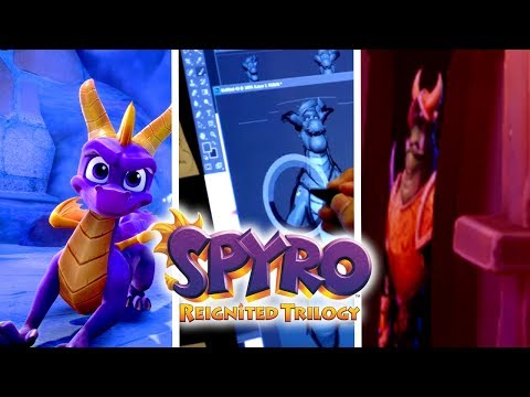 Hints We Missed On Spyro Reignited Trilogy - New Screenshots + Toys For Bob Multiplayer Job Opening?