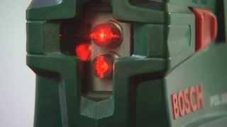видео Купить Лазер с перекрестными лучами Bosch PCL 10. Заводские цены