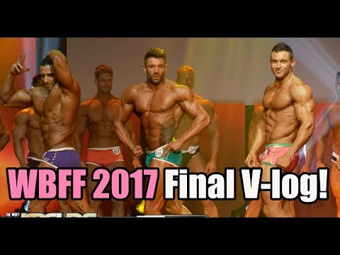 Prepping for WBFF Worlds 2017- Vlog Part 3