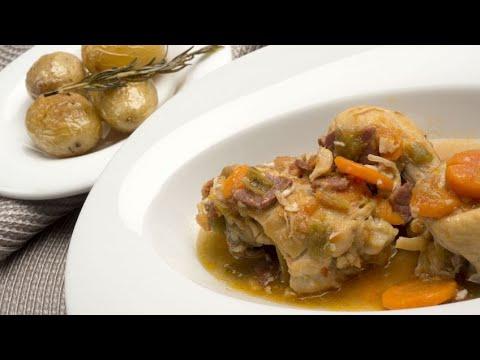 Receta de pollo guisado - Karlos Arguiñano - YouTube