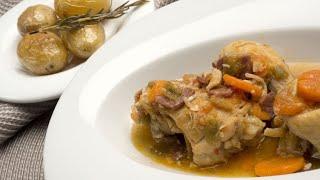 Receta de pollo guisado - Karlos Arguiñano