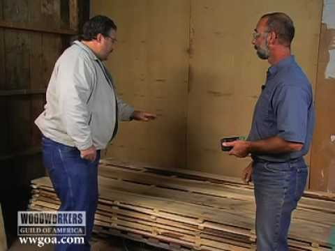 Wood Tips - Air Drying Fresh Cut Lumber