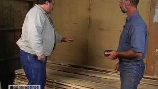 Wood Tips - Air Drying Fresh Cut Lumber