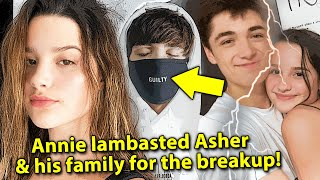 Annie LeBlanc Opens Up On BREAKUP with Asher Angel