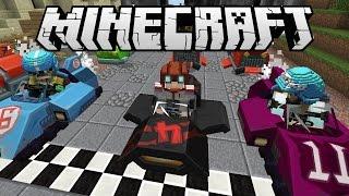 [GEJMR] Minecraft Minihry - Mario Kart Race s Kelem a Mimoňem :D