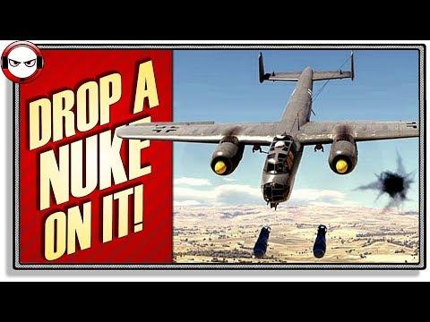 Drop a Mini Nuke on it! Do-217-E4! (War Thunder Gameplay)