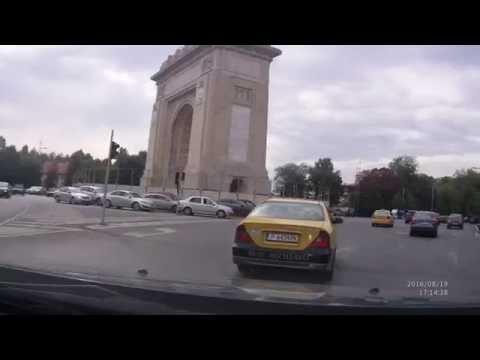 Exit from Bucharest via Voluntari