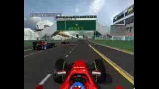 Formula 1 2014 Fernando Alonso first lap battle  V6 Engine Sound