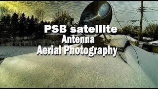 Winegard FREEVISION Antenna Fly By Drone - DJI Phantom