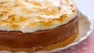 S'more Cheesecake (no-bake Recipe) - Gemma's Bigger Bolder Baking Ep  72