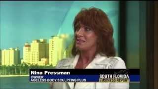 bse ultra slim plus ii unit sculpting fat in fl clinic on cbs 12 news