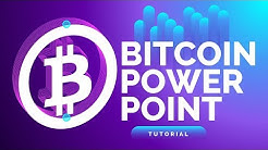 Bitcoin Cryptocurrency Slide Design in PowerPoint